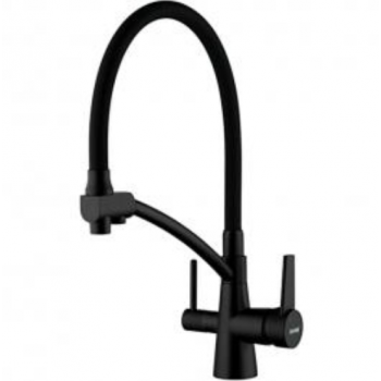 Смеситель для кухни со встроенным фильтром (краном) под питьевую воду Gappo G4398-16