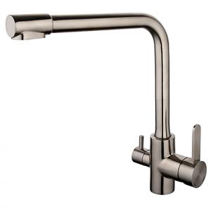 Смеситель для кухни со встроенным фильтром (краном) под питьевую воду Gappo G4399-1