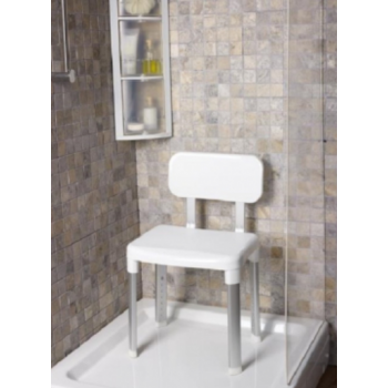 Стул для ванной Primanova M-KV20-01 белый