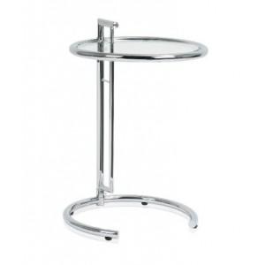 Столик закаленное стекло/хром Andrea House MU09175