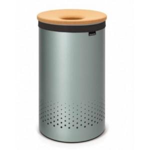 Корзина для белья Brabantia 104442 мятный металлик
