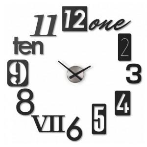 """Часы настенные Umbra """"Numbra"""" черные 118430-040"""