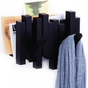 """Газетница-вешалка """"Sticks"""" черная Umbra 318209-040Black"""