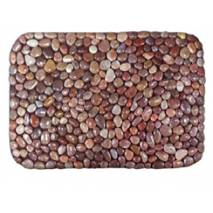 Коврик из натуральной морской гальки Relax Stones 605red