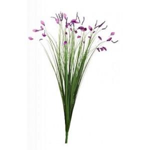 Стебли травы с цветами Garda Decor 8J-12RB0001