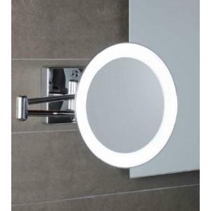 Зеркало настенное с светодиодной подсветкой, без провода, с 3-х кратным увеличением Koh-i-noor DISCOLOLED 35/2KK3