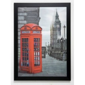 "Картина ""3D London Telephone"" Kare 34038"