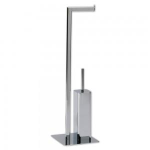 Стойка с ершиком и держателем для туалетной бумаги Andrea House BA09229