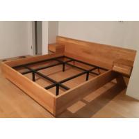Кровать из массива дуба LoftMoscow Krv010