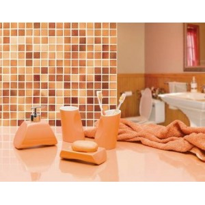 Набор аксессуаров для ванной Primanova Akik-Oranj D-14300