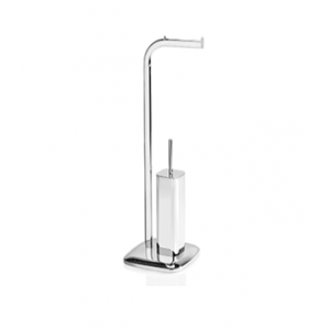 Стойка с ершиком и держателем для туалетной бумаги Andrea House BA17019
