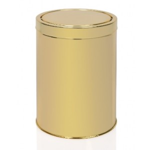 Ведро для мусора металл / золото 5 л. Andrea House BA64245