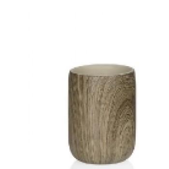 Стакан дерево Andrea House BA66143