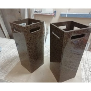 Стойка для зонтов из искусственного камня коричневая ST UMB Braun