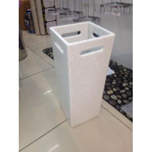 Стойка для зонтов из искусственного камня белая ST UMB White