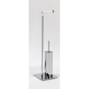 Стойка с ершиком и держателем для туалетной бумаги Andrea House BA10481