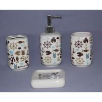 Набор аксессуаров для ванной Primanova Dolphins D-16018