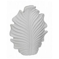 Ваза керамическая, белая Garda Decor 10K8772B