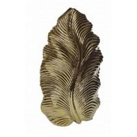Ваза керамическая, золотая Garda Decor 10K9125B