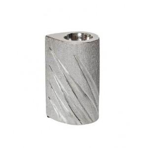 Подсвечник керамический, серебристый Garda Decor 18H6635L-3