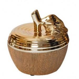 Шкатулка для украшений яблоко Garda Decor 18H7926M-6
