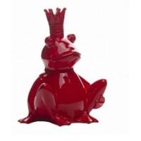 Статуэтка лягушка король Garda Decor D2318