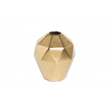 Ваза керамическая золотая 55RD3750S