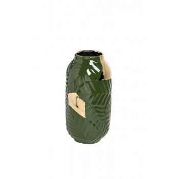 Ваза керамическая зеленая 55RV3749S