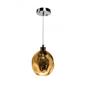 Светильник подвесной стеклянный (цвет шампань) Garda Decor K2KG913P-CM