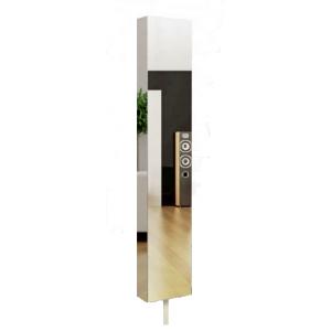 Шкаф поворотный, с 3-мя зеркалами Зум Молочный дуб