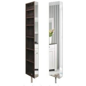 Шкаф поворотный, с 3-мя зеркалами Зум Венге