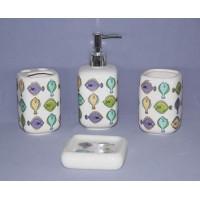 Набор аксессуаров для ванной Primanova Moss D-16131