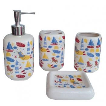 Набор аксессуаров для ванной Primanova Tegin D-16004