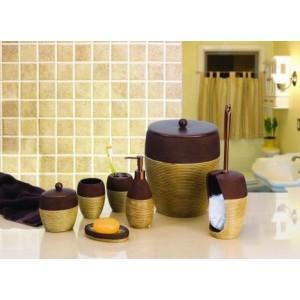 Набор аксессуаров для ванной Primanova Rattan Wire D-14090