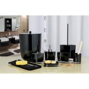 Набор аксессуаров для ванной Primanova Roma D-14710 черный
