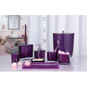 Набор аксессуаров для ванной Primanova Roma D-14720 фиолетовый