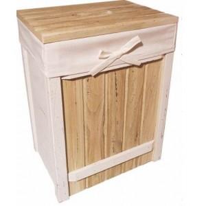 Корзина для белья деревянная 2kkorzina T141 S5 №1 большая