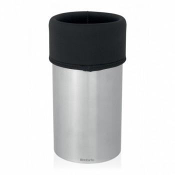 Кулер (охладитель для вина) Brabantia - Matt Steel/Black (матовая сталь/черный) 611629
