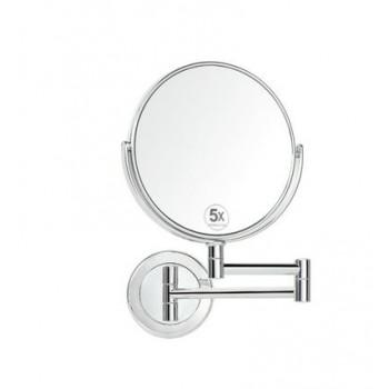 Зеркало с 5-ти кратным увеличением, настенное Andrea House BA5014
