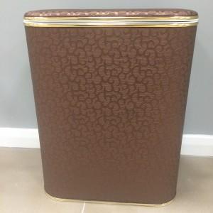 Корзина для белья Cameya FDG-M коричневая винил малая
