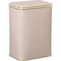 Корзина для белья Cameya FLG-B большая с золотой окантовкой