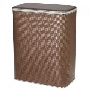 Корзина для белья Cameya KDH-B коричневая большая с хромированной окантовкой