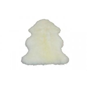 Шкура овечья одинарная белая S