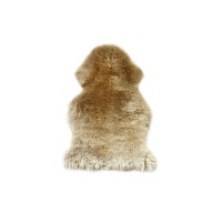 Шкура овечья одинарная бежевая XL 00000264