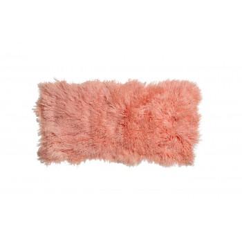 Овчина тибетская персиковая