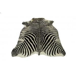 Шкура под зебру бело-черная 00000500