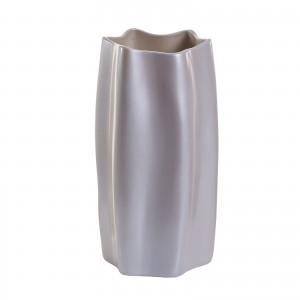 Ваза керамическая (жемчужно-белая) P31-32