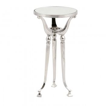 Стол стеклянный круглый IK43929