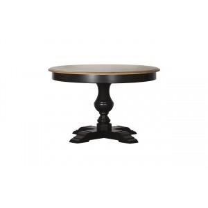 Стол обеденный раскладной чёрный SH24-HH.DT.08-MA(черн.)