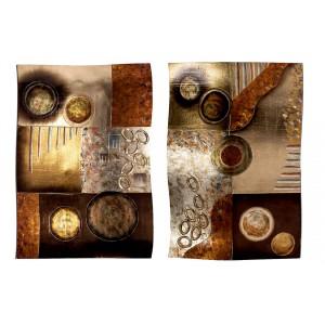 Комплект из 2х панно ART-AD1058-PL